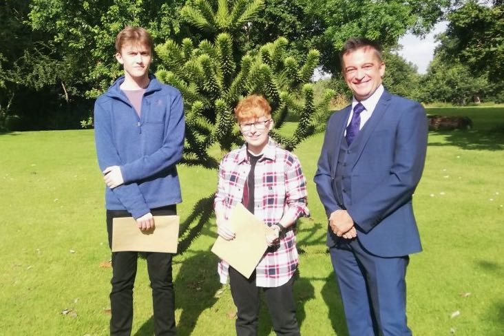 90% A*-A A Level Results for Stoke College Students